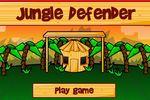 ジャングルの猿たちから家を守る防衛ゲーム